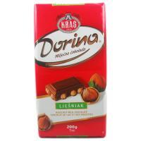 Kraš Dorina Milchschokolade mit Haselnuss 200g