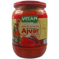 Visan Ajvar Scharf 720g